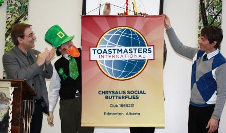 Chrysalis Social Butterflies Toastmasters Club