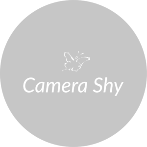 camera shy with chrysalis icon