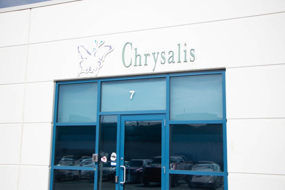 Calgary Chrysalis outdoor building