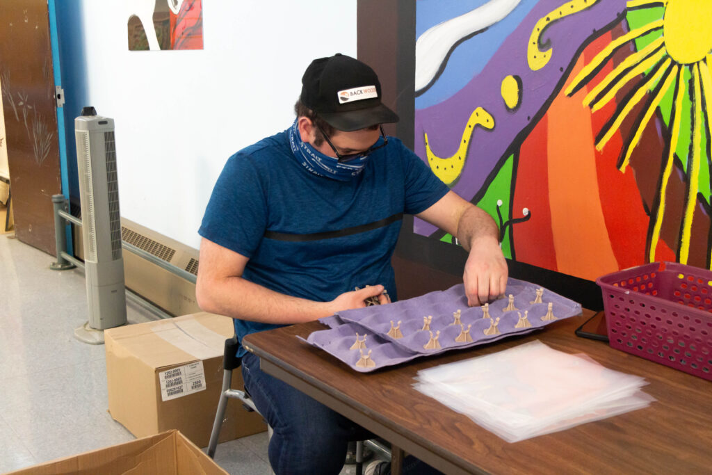 Chrysalis Edmonton individual making plastics