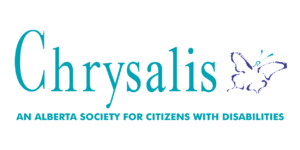 Horizontal Chrysalis logo with tagline
